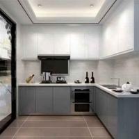 金牌廚柜 第五大道烤漆 3米地柜+3米臺面+1米吊柜