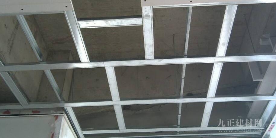轻钢龙骨石膏板吊顶装修效果图6