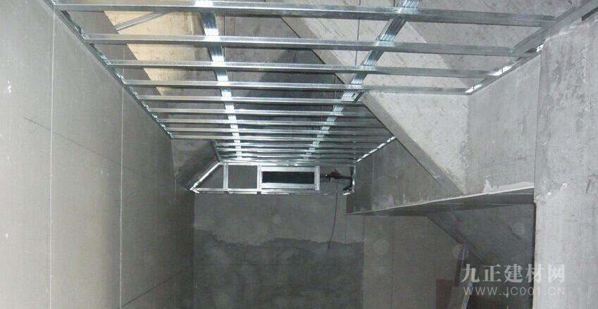 轻钢龙骨石膏板吊顶装修效果图5