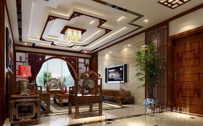 中式客廳吊頂裝飾知識 中式客廳吊頂裝修效果圖欣賞