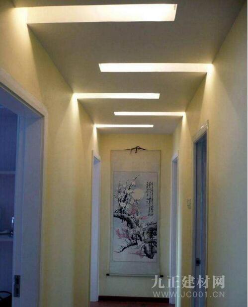 走廊吊顶用什么材料?走廊吊顶装修效果图