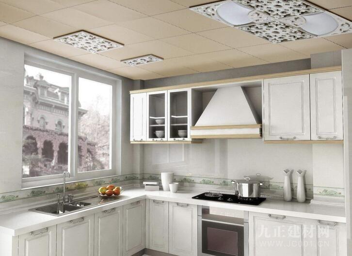 厨房吊顶装修效果图1