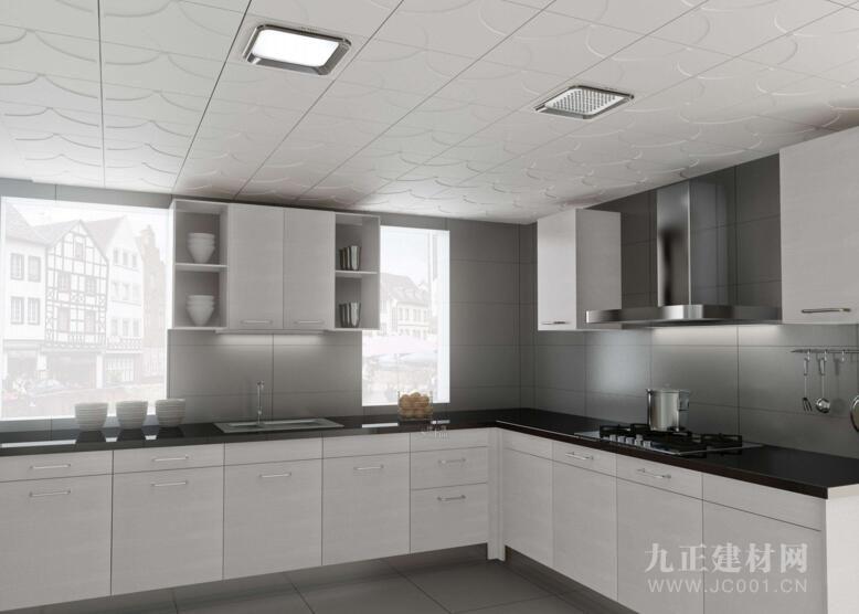 厨房吊顶装修效果图3