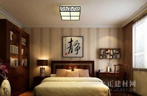 中式卧室吊顶效果图欣赏8