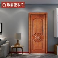 欧丽亚木门新中式木门中式古典卧室门客厅门厨房门复合套装实木门