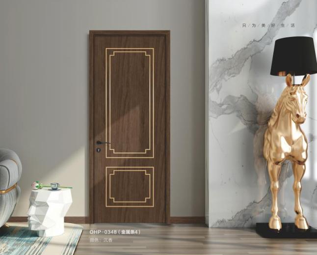 歐尚係列現代輕奢風格木門產品