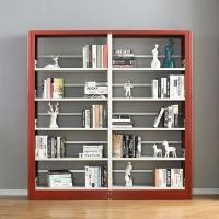 重慶兆信鋼制書架六層書架學校多層書架供應