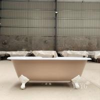 浴缸厂家直销独立式铸铁浴缸 古典浴缸