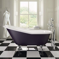 银山卫浴厂家直销铸铁贵妃浴缸 公主缸