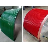 彩钢弧形防雨罩 皮带机防雨罩  输送机防尘罩 量大可酌情优惠