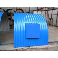 熙卓設計的弧形輸送機防雨罩質量可靠