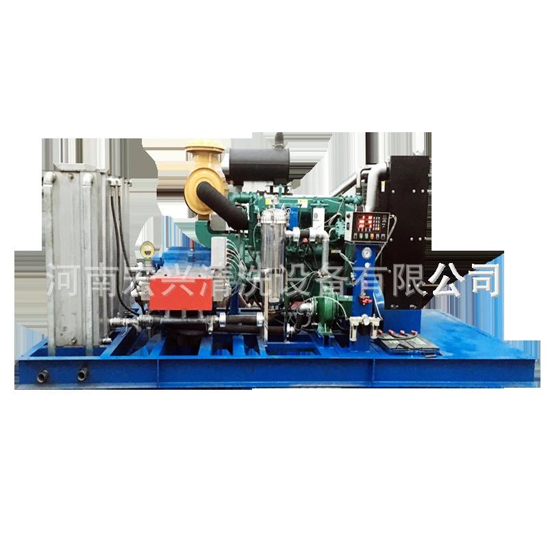 濰柴動力換熱器清洗機 80升大流量換熱器高壓清洗機