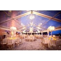 正德篷房供应透明婚庆篷房,婚礼大棚