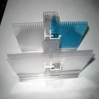锁扣阳光板透明pc耐力板户外双层阳光板透明屋顶pc中空板温室