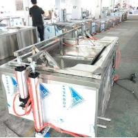 食品厂液化气豆泡油炸炉 德茹1米自动控温鸡爪油炸锅