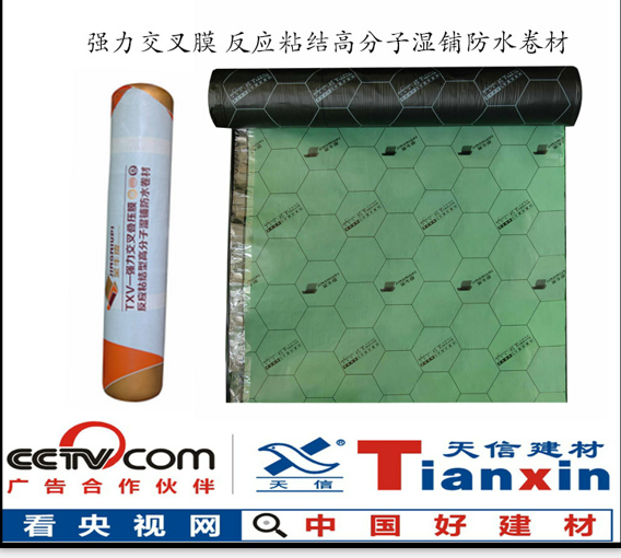 CPS渗透反应粘结高分子湿铺防水卷材