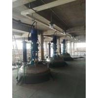 熱熔膠反應釜  螺帶式框式攪拌漿  夾套電加熱