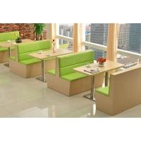 重庆餐厅板式沙发,实木卡座沙发定制