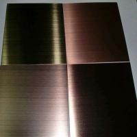 本峰新材料-铝单板-仿古铜拉丝铝单板