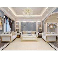 【欧瑞家具】现代轻奢简约布艺沙发组合整装 大户型客厅沙发三人