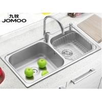 【JOMOO九牧】jomoo九牧水槽304不绣钢双槽加厚厨房