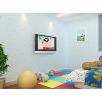 【帕力美】环包儿童房无纺布墙纸男孩卧室床头背景墙壁纸卡通小猫