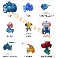 衬氟球阀(Q41、Q341、Q641、Q941;Q43、Q3