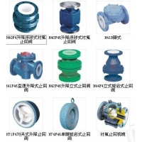 衬氟止回阀(H40、H41、H42、H44、H71、H72、