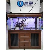 天津家用鱼缸名亨品牌客厅落地装饰点缀1.5米1.2米