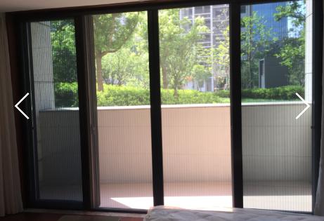 GM纱窗,GM低轨链条折叠纱门