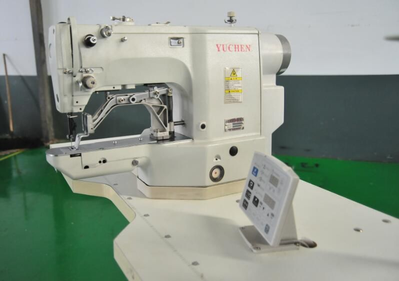 工業縫紉機-全自動電腦套結機:打棗機 打結機YC-430D-- 禹臣