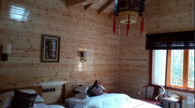 防腐木栏杆平台地板厂、景观木结构、实木栏杆地板