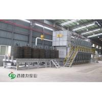 江蘇宜興連續熱處理輥底式燃氣爐