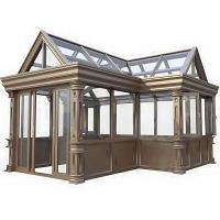 天津阳光房,断桥铝系统阳光房,小院玻璃阳光房定做