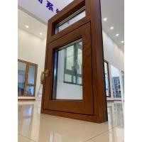 天津108铝包木系统窗  框扇齐平隐藏式五金系统