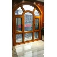 天津斯瑞阁98铝包木系统窗,双扇内开金刚网一体窗