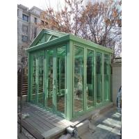天津鋁合金系統陽光房 折疊門敞開式陽光房