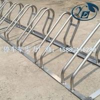 深圳2020适合地铁安装不锈钢卡位式自行车停车架