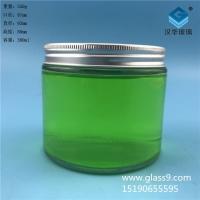 厂家直销380ml圆形蜂蜜玻璃瓶,食品玻璃瓶批发