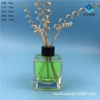 徐州生產150ml方形香薰玻璃瓶