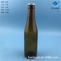 厂家直销330ml通用啤酒玻璃瓶