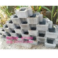 干垒式挡土墙砌块生态挡土墙自嵌式景观挡土块