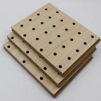 木质穿孔吸音板影院会议室KTV墙面装饰木质吸音材料