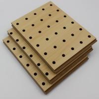 穿孔吸音板墙面阻燃环保木质穿孔吸音材料隔音板直销