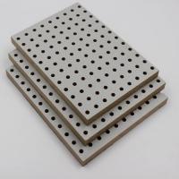 多层板木质吸声板环保E1级木质穿孔板会议室装修材料