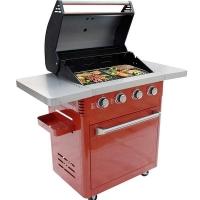 大型家用商用大號燒烤架 出口別墅庭院加大加厚燒烤爐