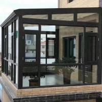別墅洋房高端鋁合金門窗陽光房斷橋門窗安裝工程