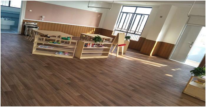 幼儿园首选地板、绿色安全儿童地胶