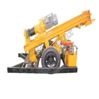 恒旺150轮式气动钻机 家用小型打井机 百米地质勘探钻机