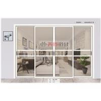 南京移门-美尚铝业-45窄边框系列